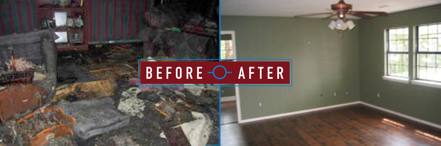 complete restoration, entire room restoration, northwest restoration, restoration services nwa